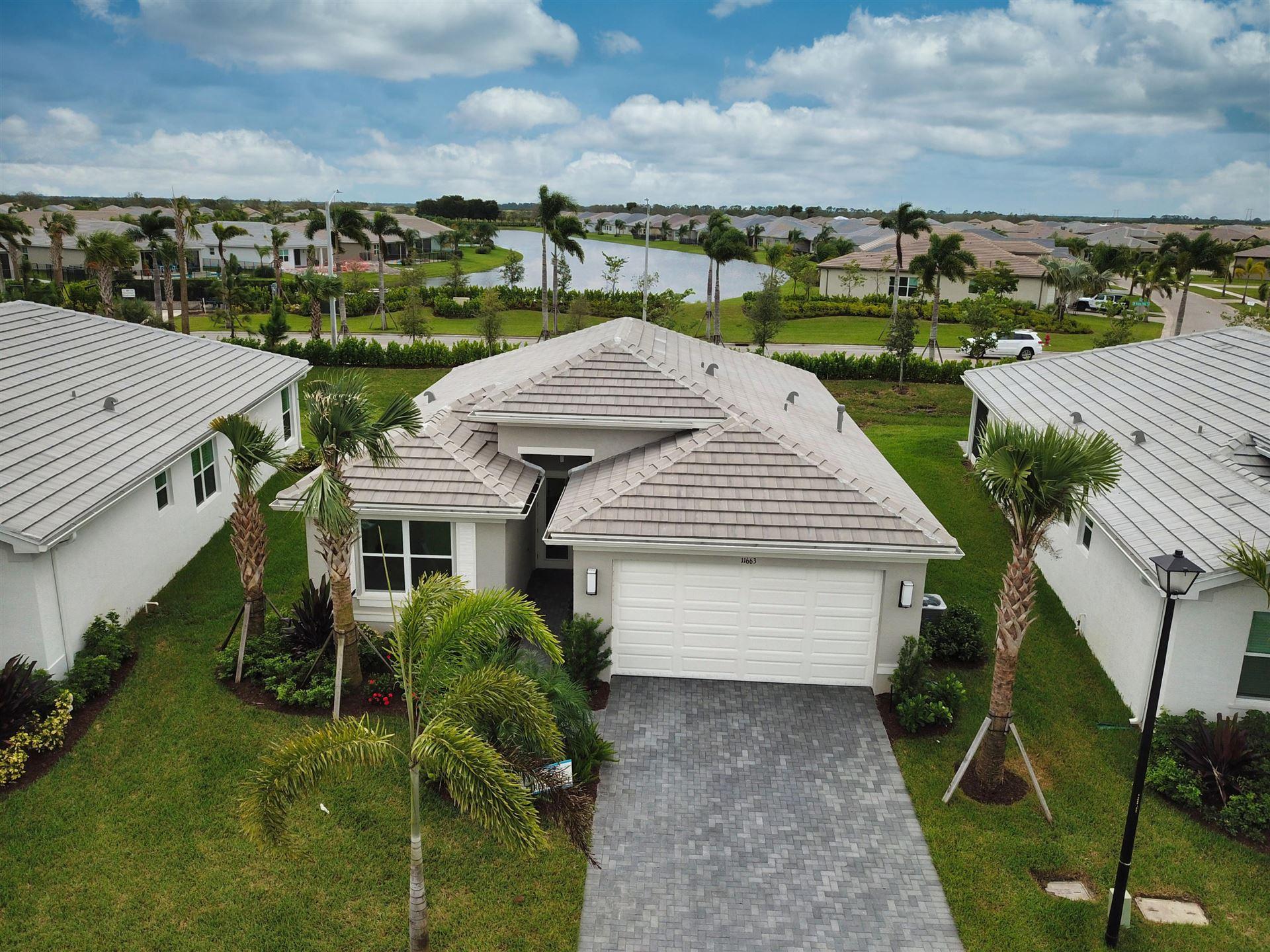 11663 SW Hawkins Terrace, Port Saint Lucie, FL 34987 - #: RX-10668150