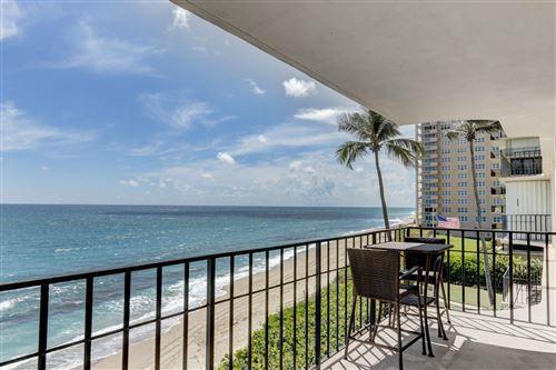 Photo of 5480 N Ocean Drive #A 3a, Singer Island, FL 33404 (MLS # RX-10654151)