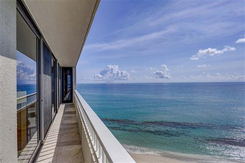 Tiny photo for 5540 N Ocean Drive #9b, Singer Island, FL 33404 (MLS # RX-10745151)