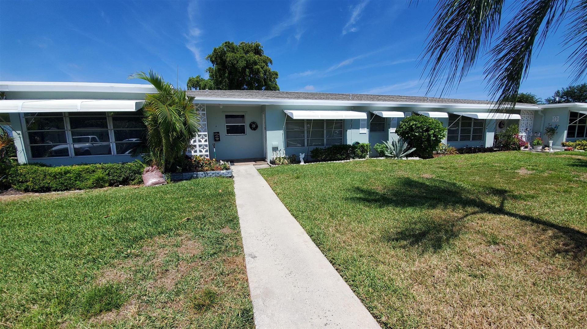 185 High Point Terrace E #B, Delray Beach, FL 33445 - MLS#: RX-10703152