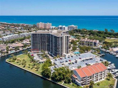 Photo of 4740 S Ocean Boulevard #502, Highland Beach, FL 33487 (MLS # RX-10726153)