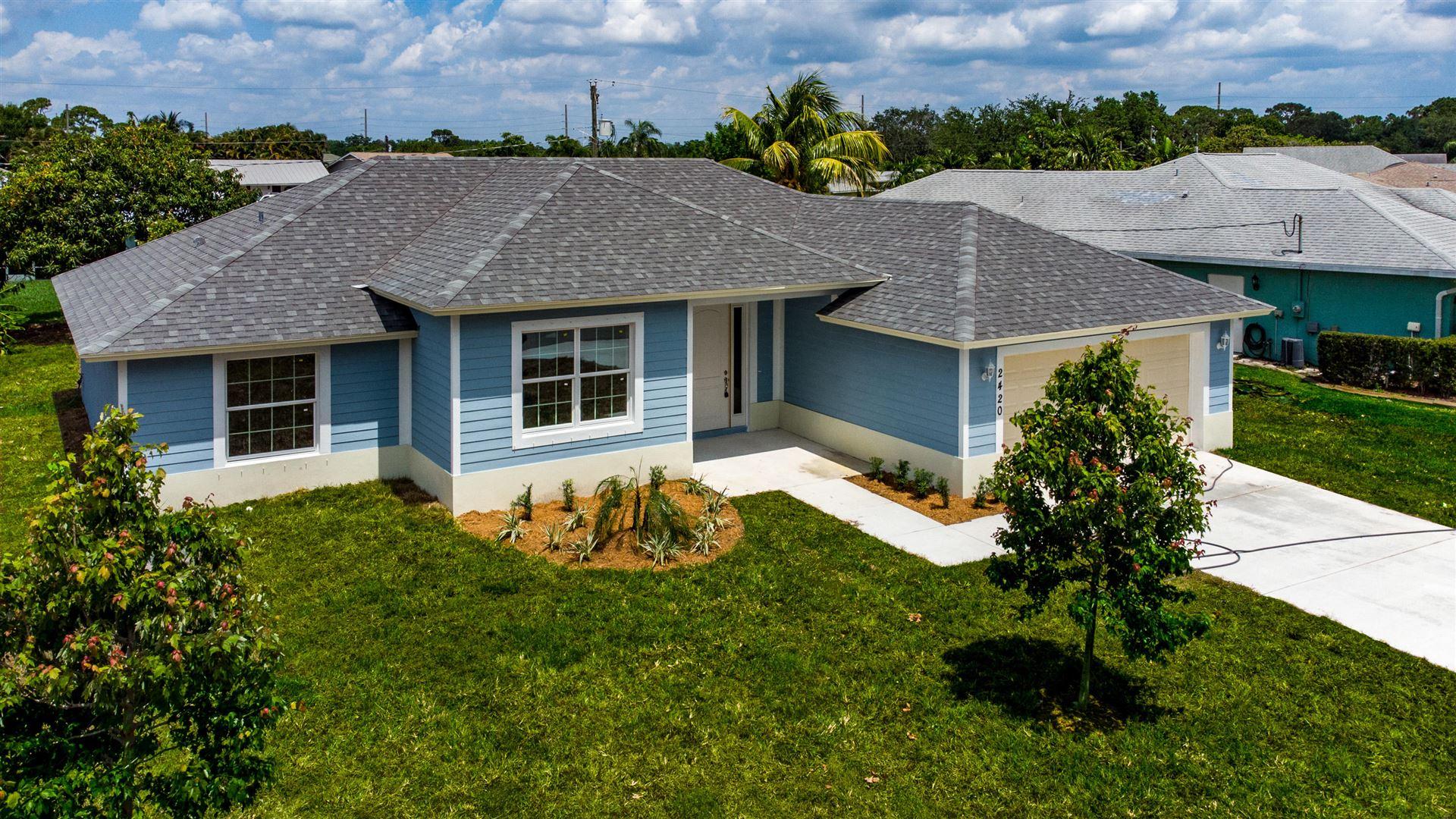 2420 SE Saphire Terrace, Port Saint Lucie, FL 34952 - #: RX-10715154