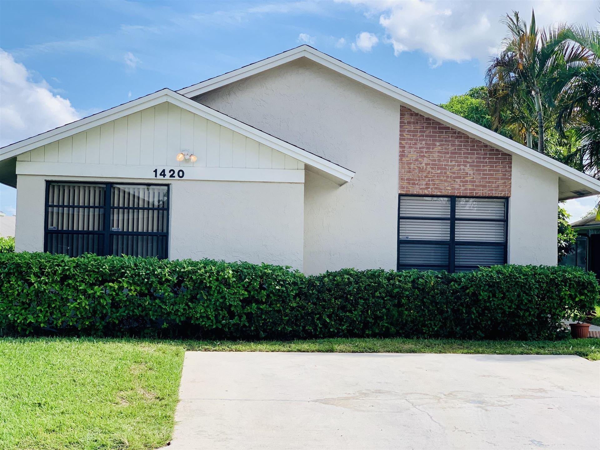 1420 Longarzo Place, West Palm Beach, FL 33415 - MLS#: RX-10754157
