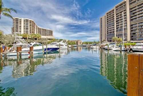 Photo of 4748 S Ocean Boulevard #7-B, Highland Beach, FL 33487 (MLS # RX-10636158)