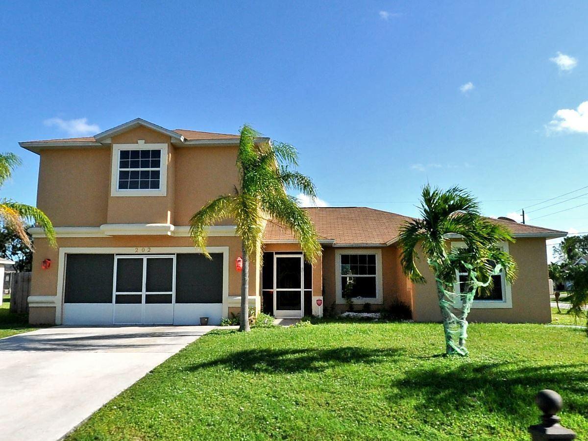 202 SE Volkerts Terrace, Port Saint Lucie, FL 34953 - #: RX-10722158