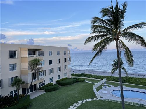 Photo of 2701 S Ocean Boulevard #47, Highland Beach, FL 33487 (MLS # RX-10750159)