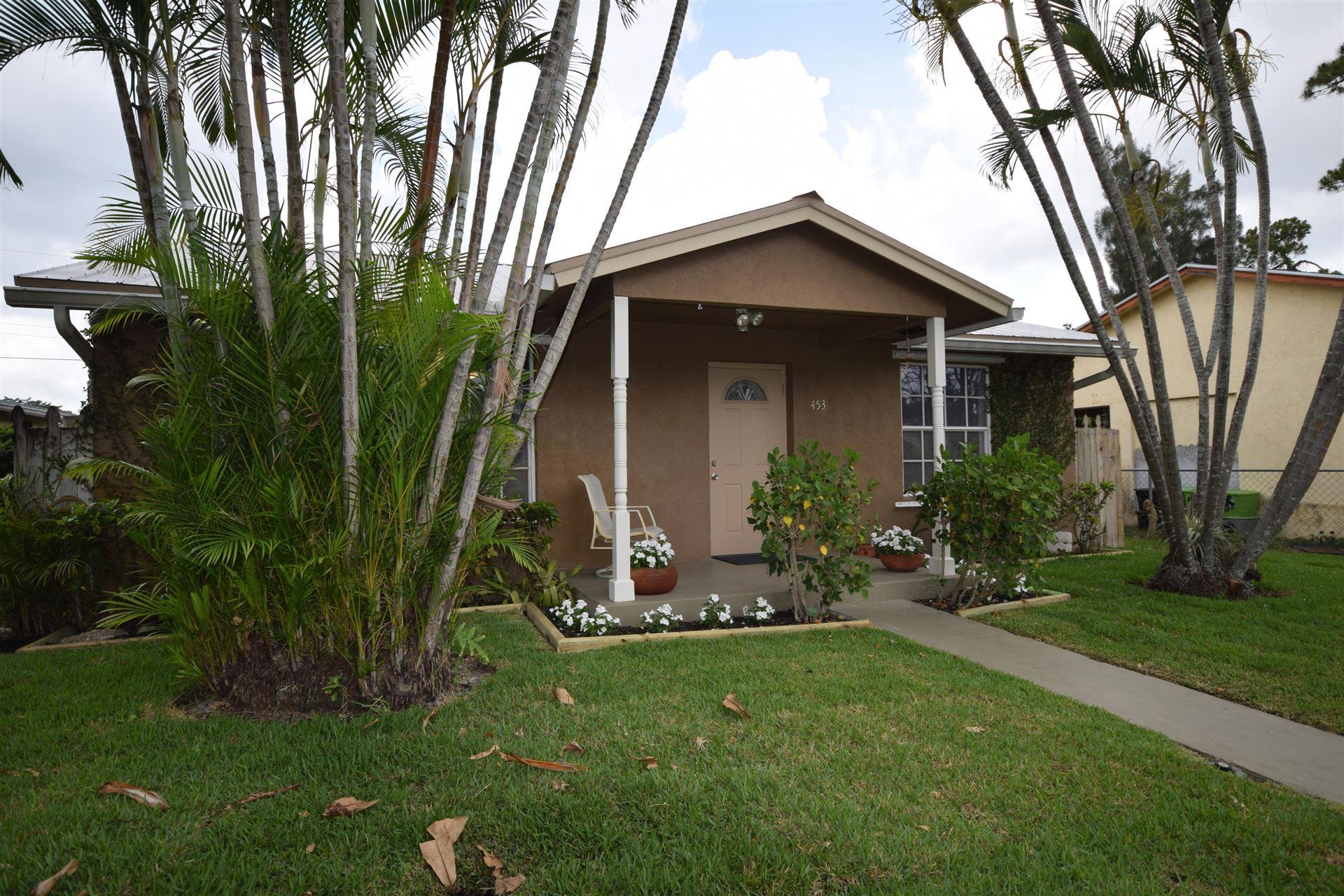453 Martin Avenue, Greenacres, FL 33463 - MLS#: RX-10714161