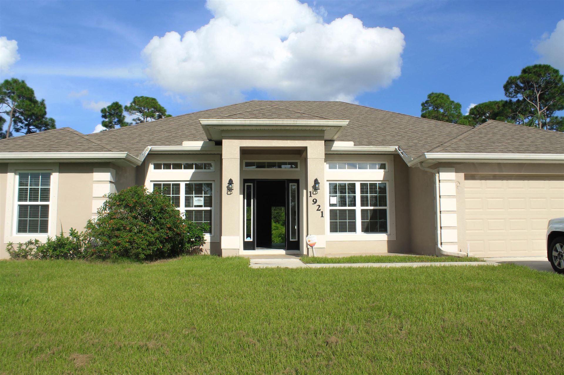 1921 SW Diamond Street, Port Saint Lucie, FL 34953 - #: RX-10658162