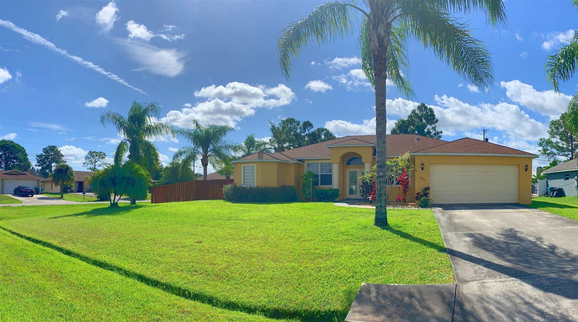 1202 SW San Esteban Avenue, Port Saint Lucie, FL 34953 - #: RX-10754162