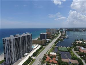 Photo of 250 S Ocean Boulevard #Ph-E, Boca Raton, FL 33432 (MLS # RX-10426164)