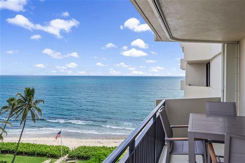 Photo of 5460 N Ocean Drive #7-D, Singer Island, FL 33404 (MLS # RX-10738168)