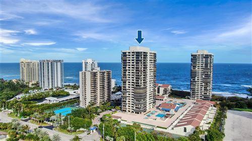 Photo of 4100 N Ocean Drive #303, Singer Island, FL 33404 (MLS # RX-10732169)
