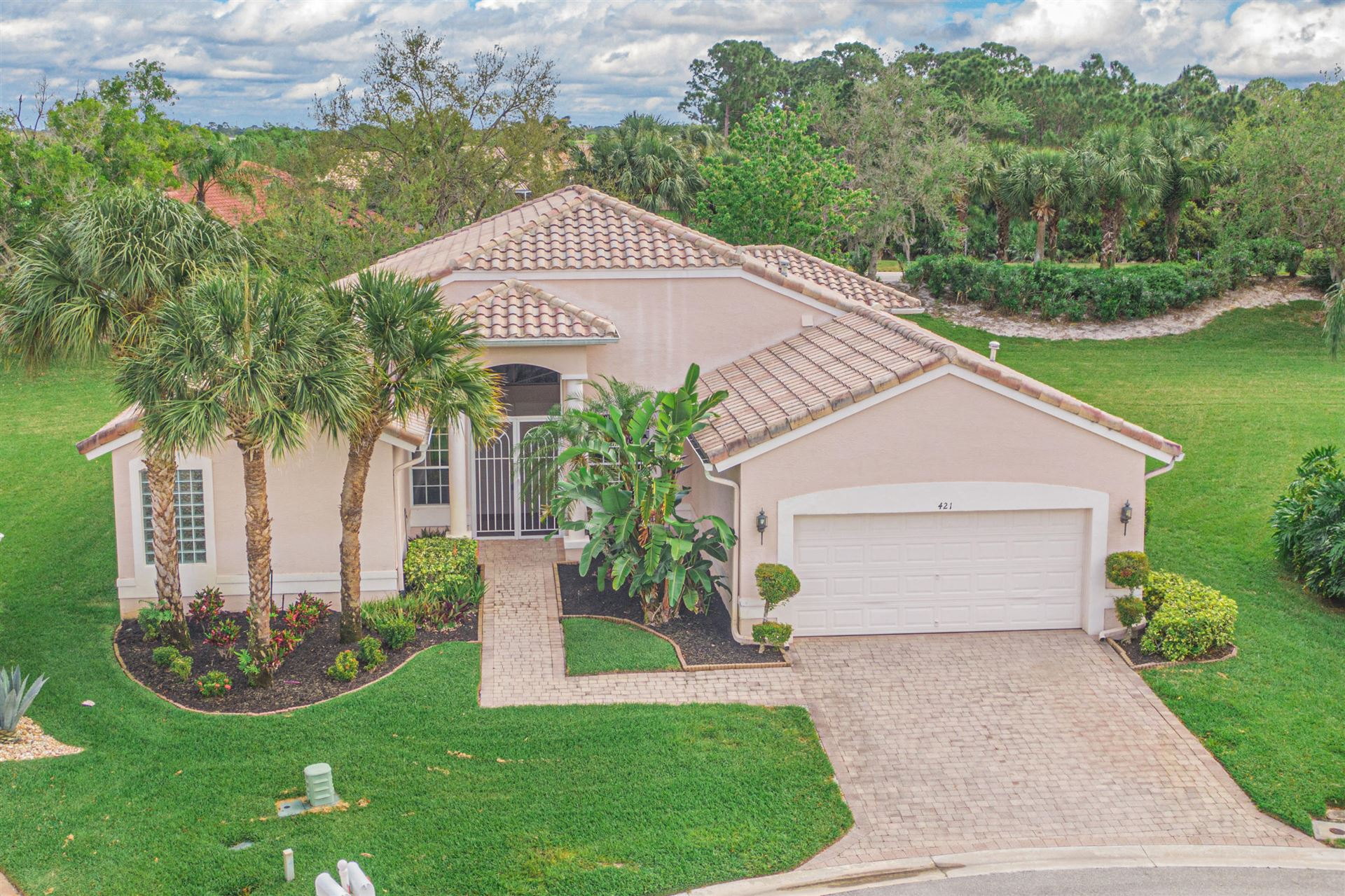 Photo of 421 NW Aqua Vista Lane, Port Saint Lucie, FL 34986 (MLS # RX-10699170)