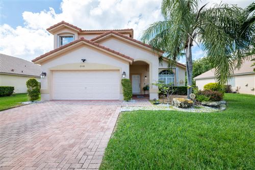 Photo of 2538 Egret Lake Drive, Greenacres, FL 33413 (MLS # RX-10696171)