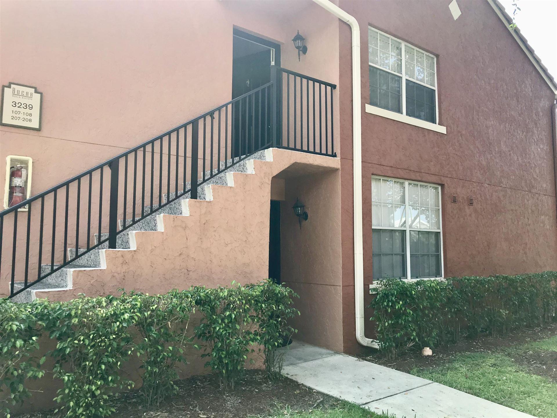 3151 Clint Moore Road #107, Boca Raton, FL 33496 - #: RX-10641171