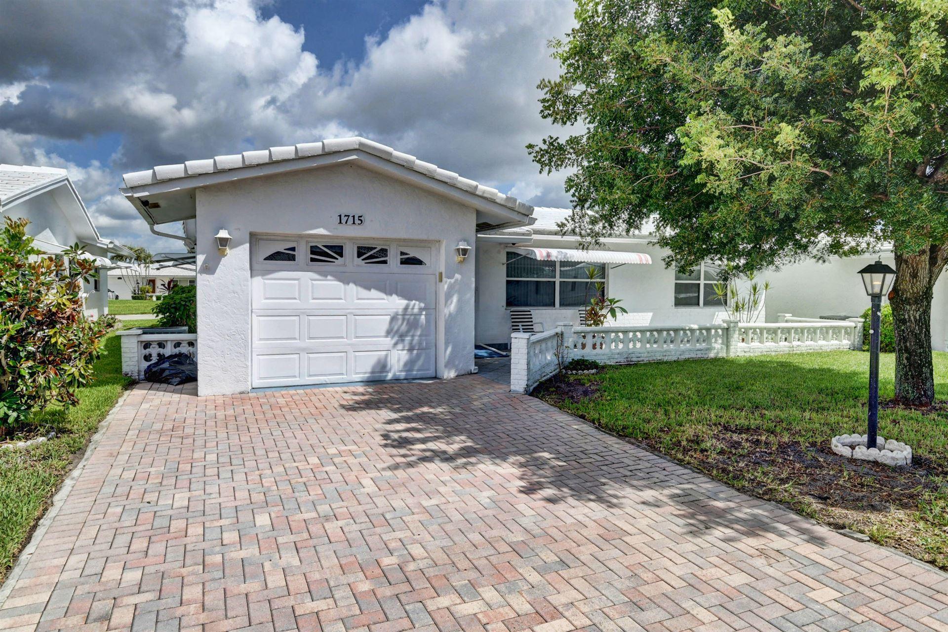 1715 SW 19th Drive, Boynton Beach, FL 33426 - MLS#: RX-10735171