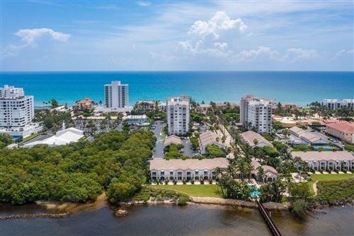 Photo of 3594 S Ocean Boulevard #407, Highland Beach, FL 33487 (MLS # RX-10730173)