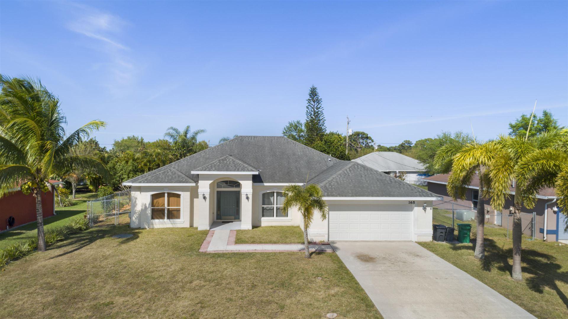 165 SW Covington Road, Port Saint Lucie, FL 34953 - #: RX-10609174