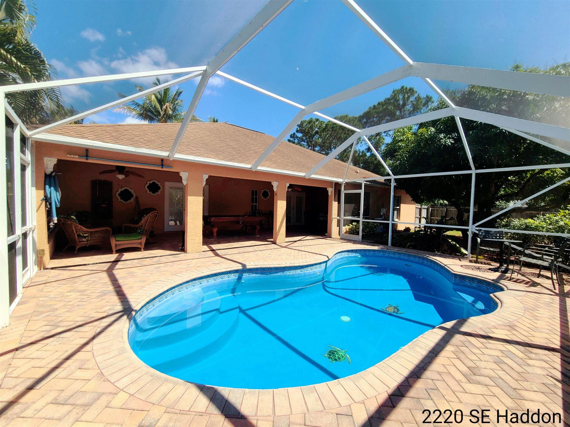 2220 SE Haddon Street, Port Saint Lucie, FL 34984 - #: RX-10705176
