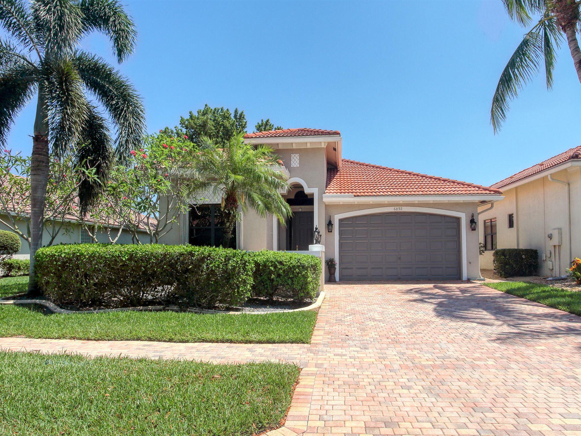 6892 Adriano Drive, Boynton Beach, FL 33437 - MLS#: RX-10714177