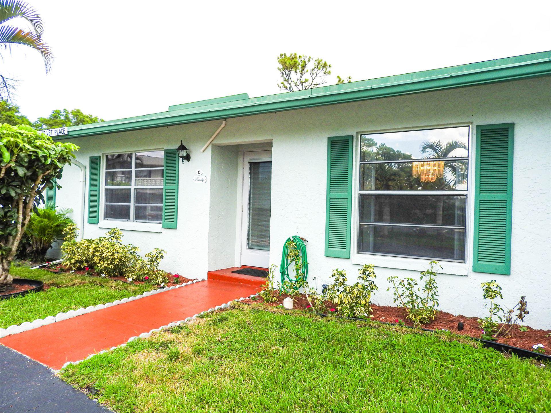 5032 Privet Place #C, Delray Beach, FL 33484 - #: RX-10639179