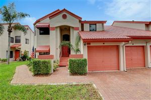 Photo of 7669 Lexington Club Boulevard #C, Delray Beach, FL 33446 (MLS # RX-10571183)