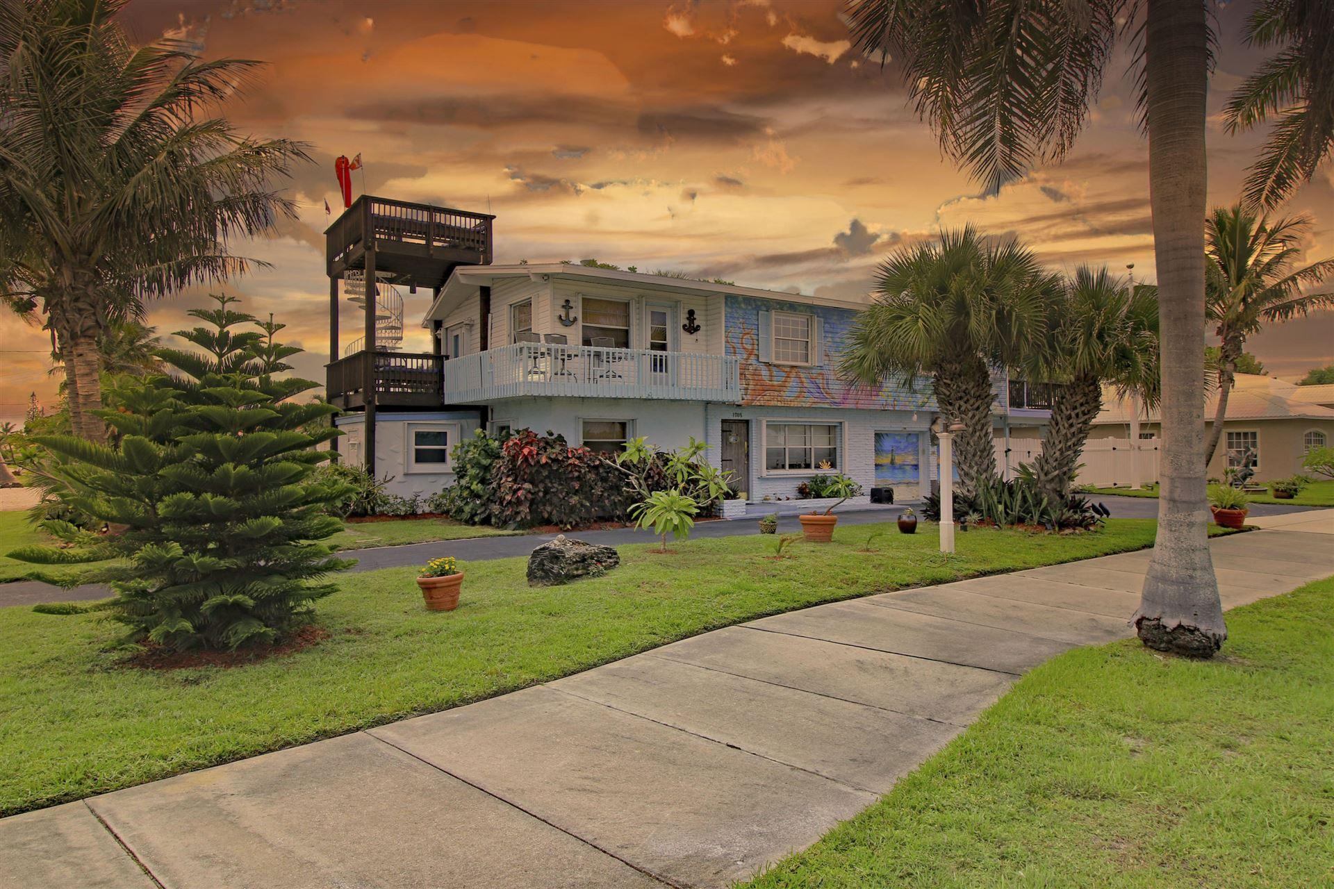 1705 S Ocean Drive, Fort Pierce, FL 34949 - #: RX-10644185