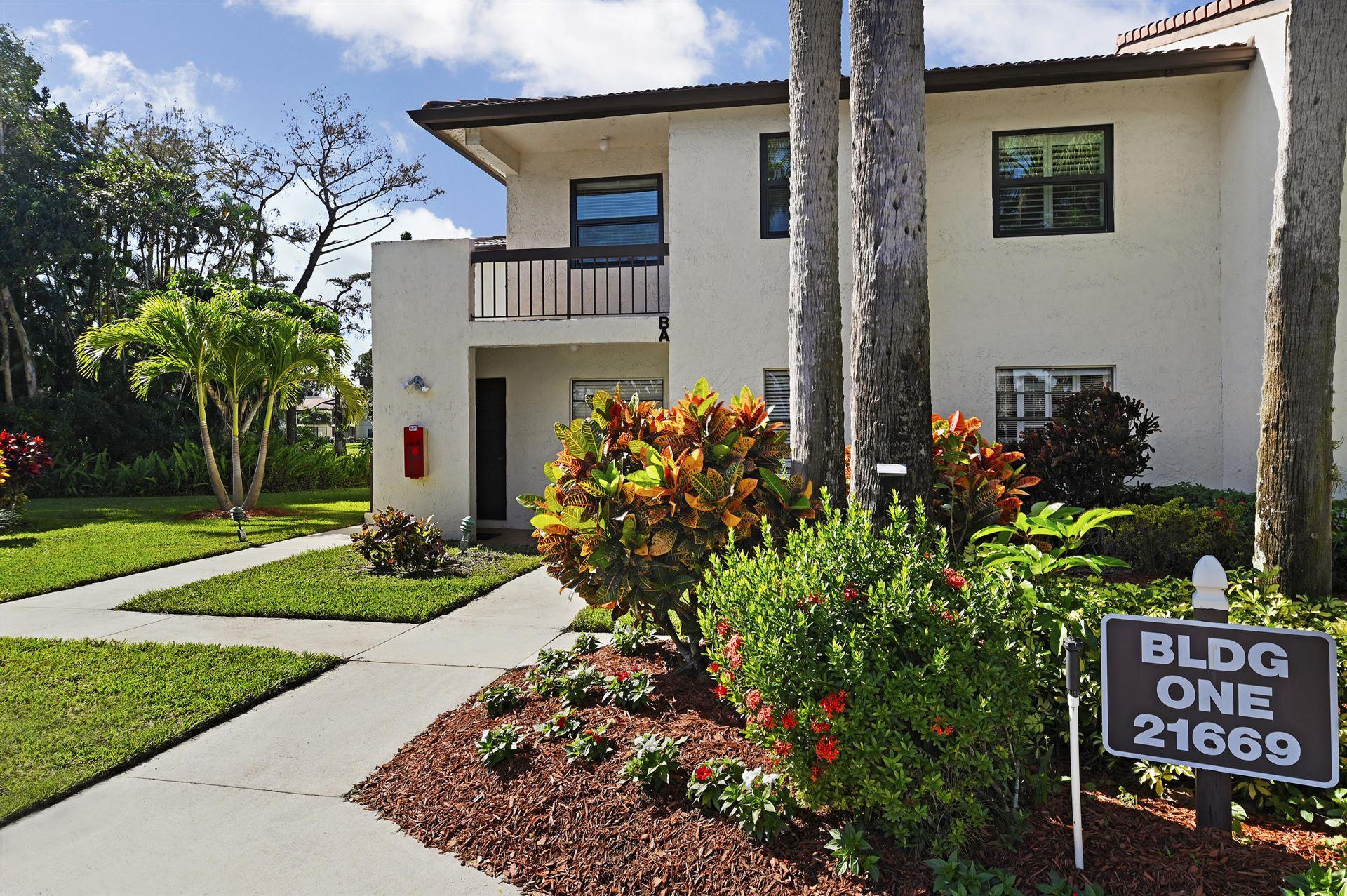 21669 Tall Palm Circle #1b, Boca Raton, FL 33433 - #: RX-10676185