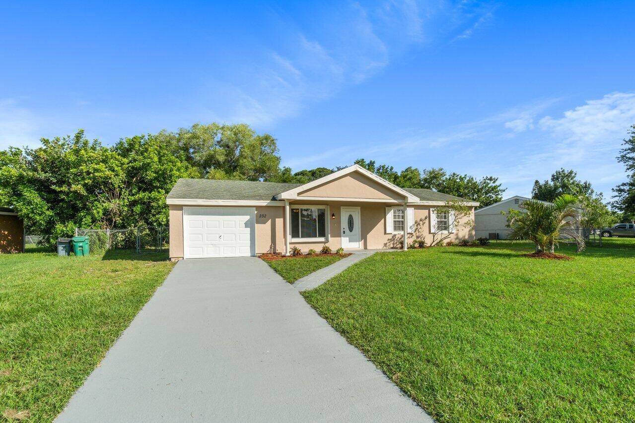 232 SW Kimball Circle, Port Saint Lucie, FL 34953 - #: RX-10734185
