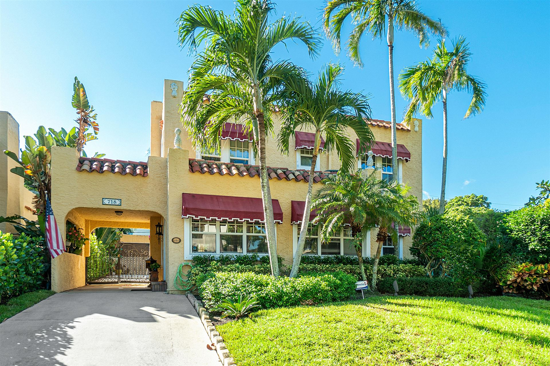 718 Biscayne Drive, West Palm Beach, FL 33401 - #: RX-10620186