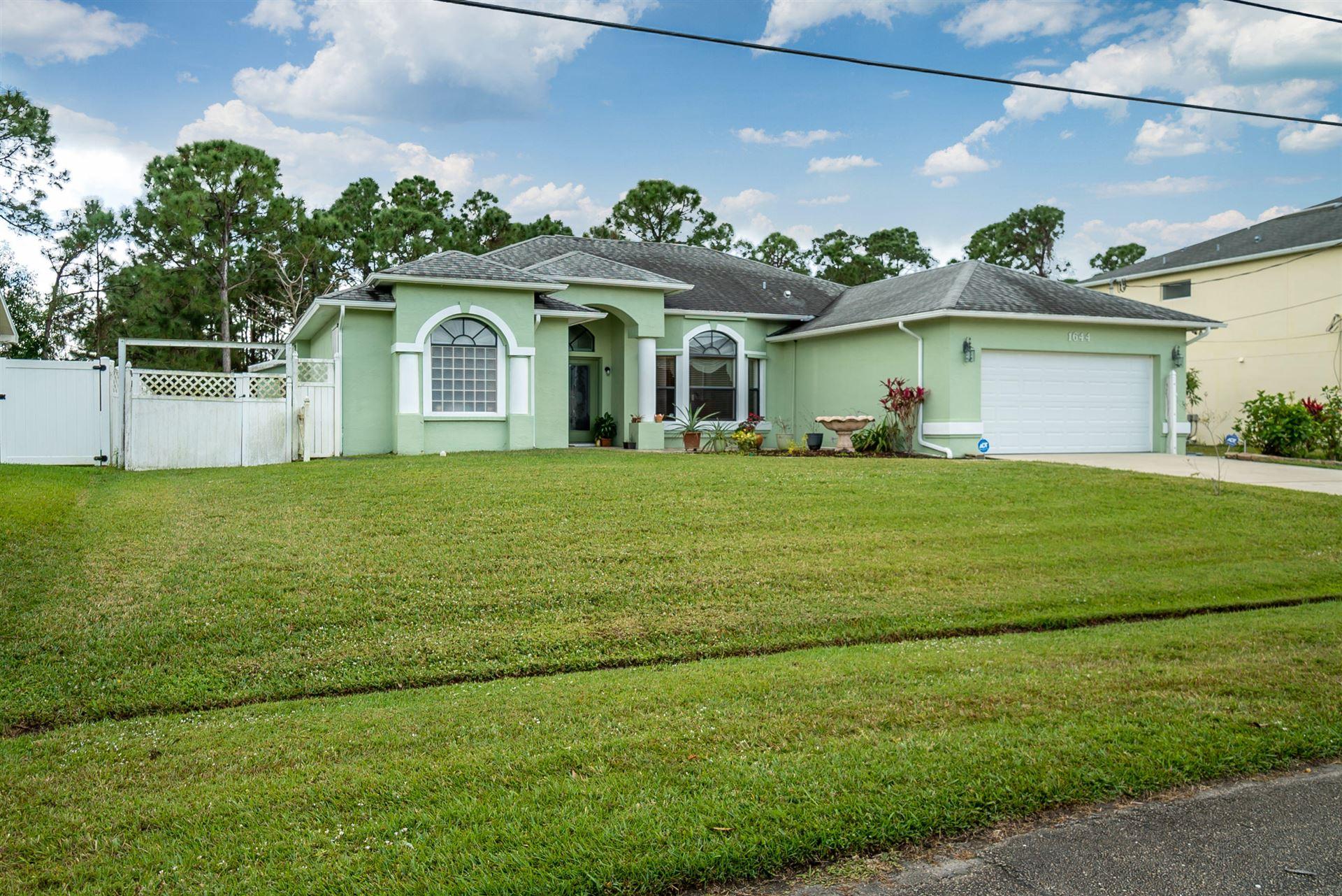 1644 SW Mullinax Avenue, Port Saint Lucie, FL 34953 - #: RX-10595187