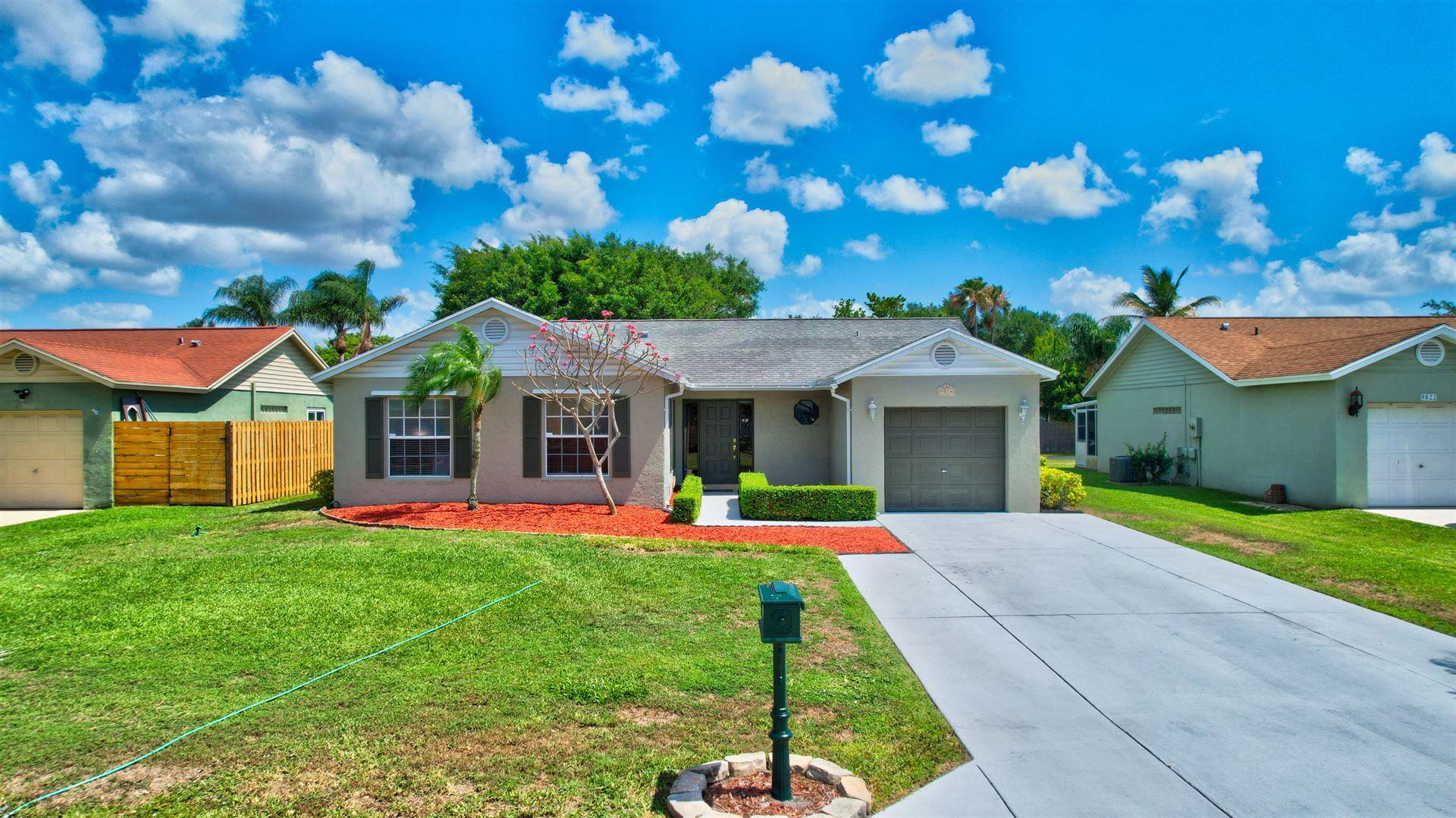 9814 Goldenrod Drive, Boynton Beach, FL 33437 - MLS#: RX-10720187