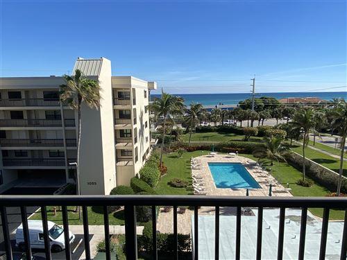 Photo of 1045 Ocean Drive #502, Juno Beach, FL 33408 (MLS # RX-10681190)