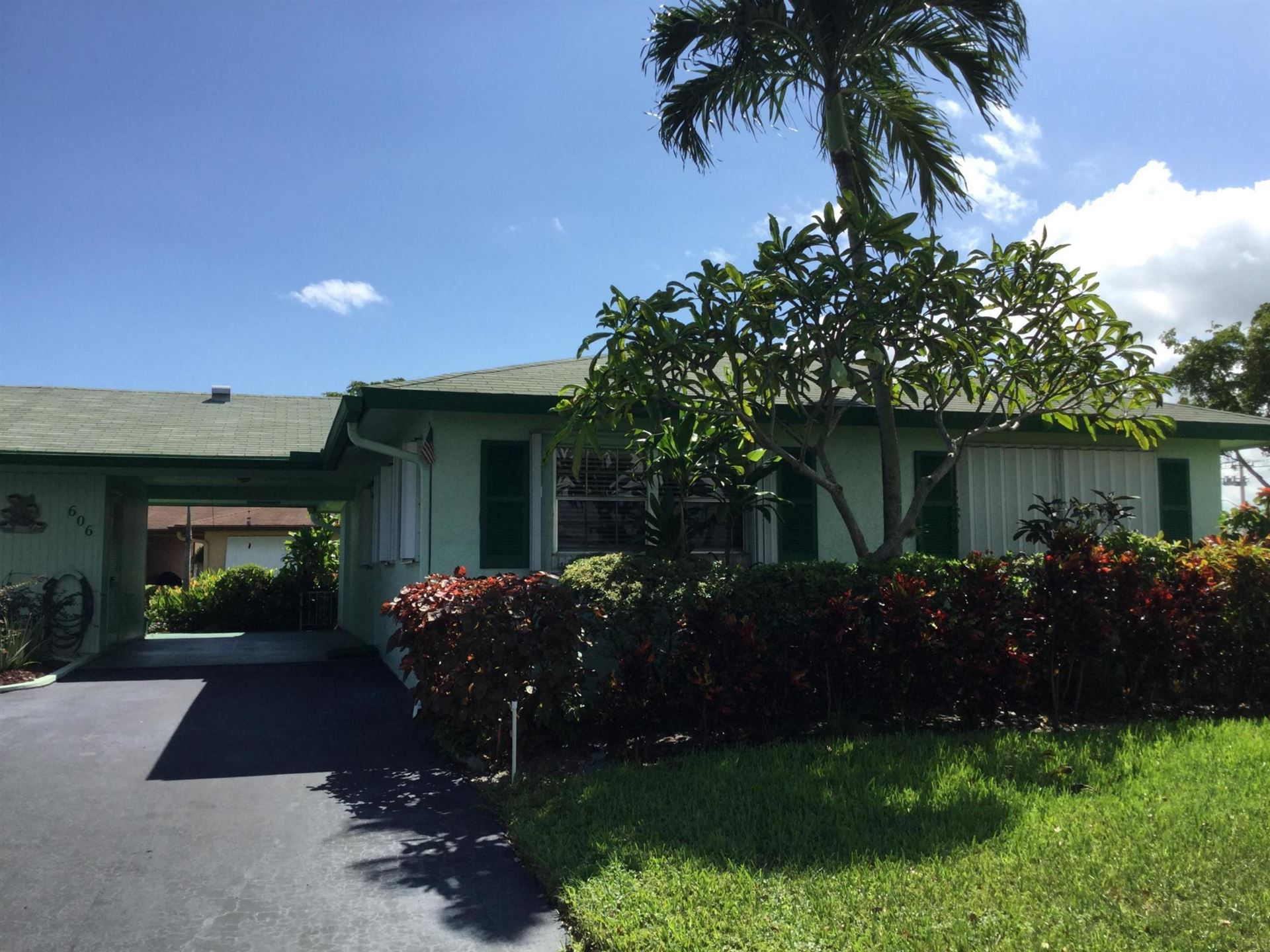 606 Hummingbird Lane, Delray Beach, FL 33445 - #: RX-10659191