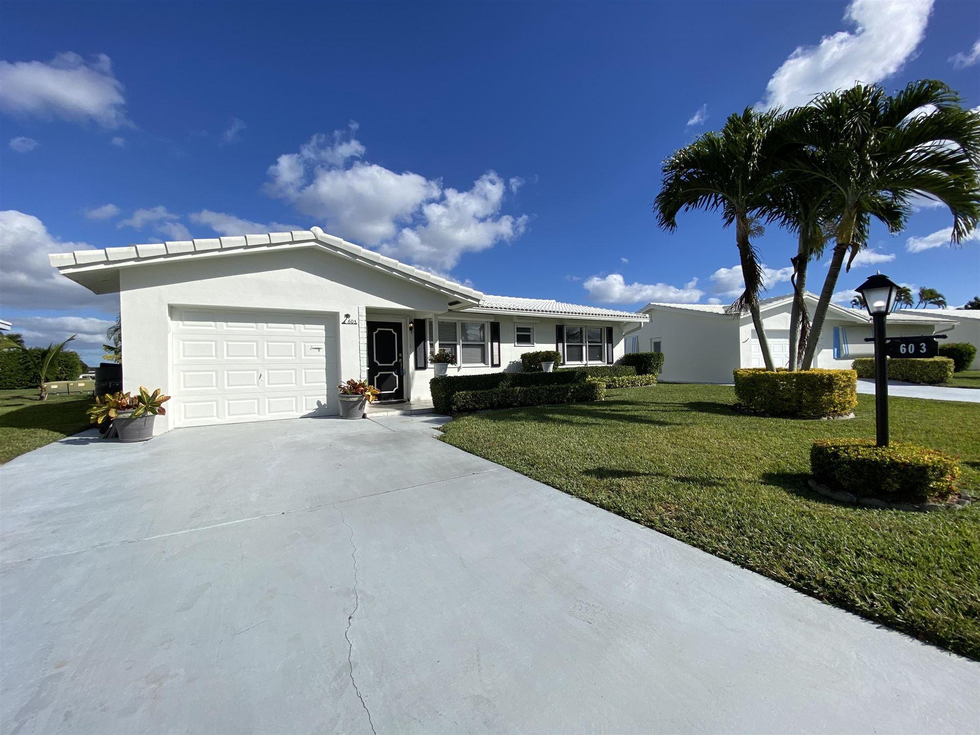 603 SW 15th Street, Boynton Beach, FL 33426 - #: RX-10681191