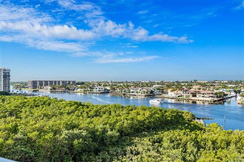 Photo of 3720 S Ocean Boulevard #603, Highland Beach, FL 33487 (MLS # RX-10597193)