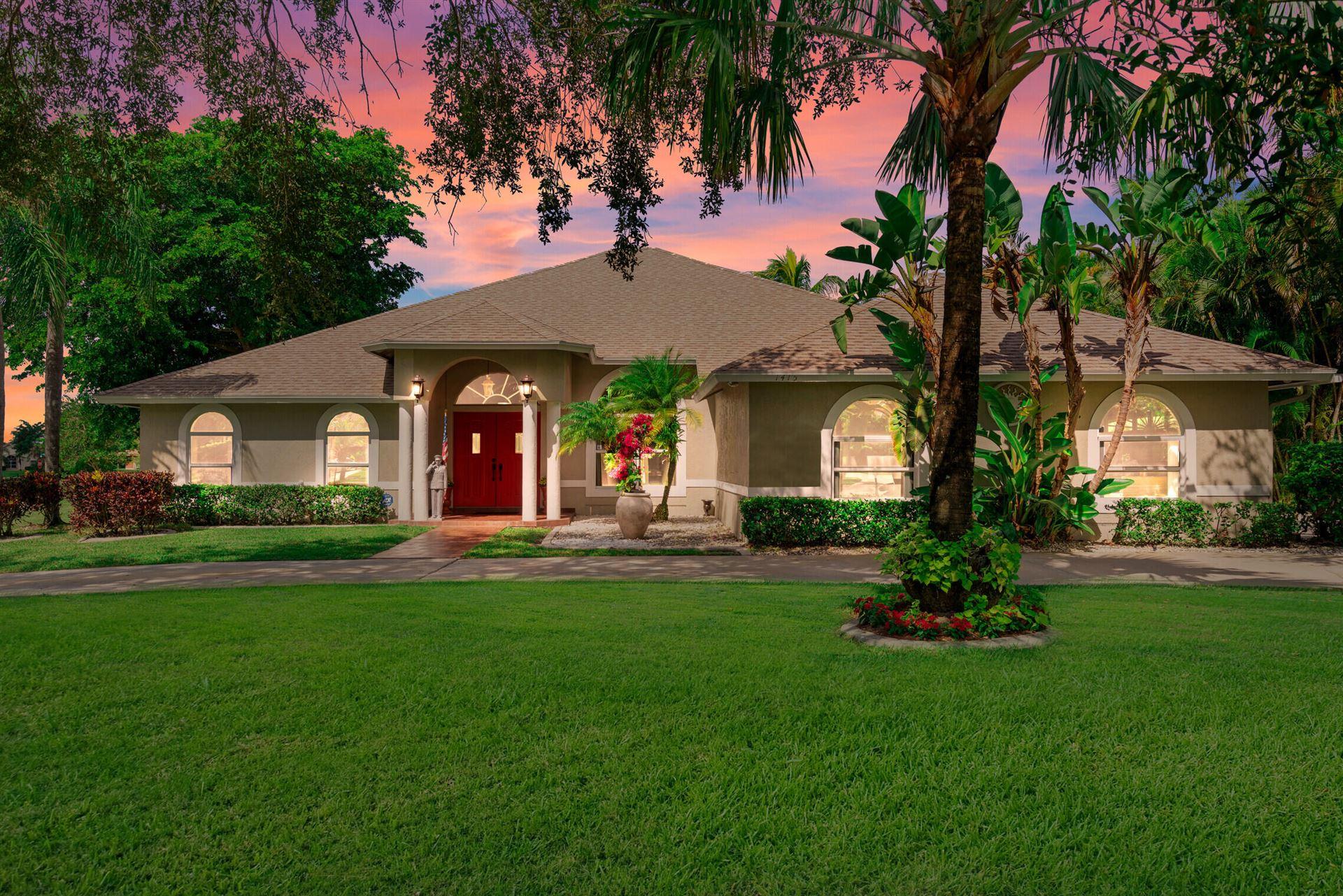 Photo of 1415 Longlea Terrace, Wellington, FL 33414 (MLS # RX-10752196)