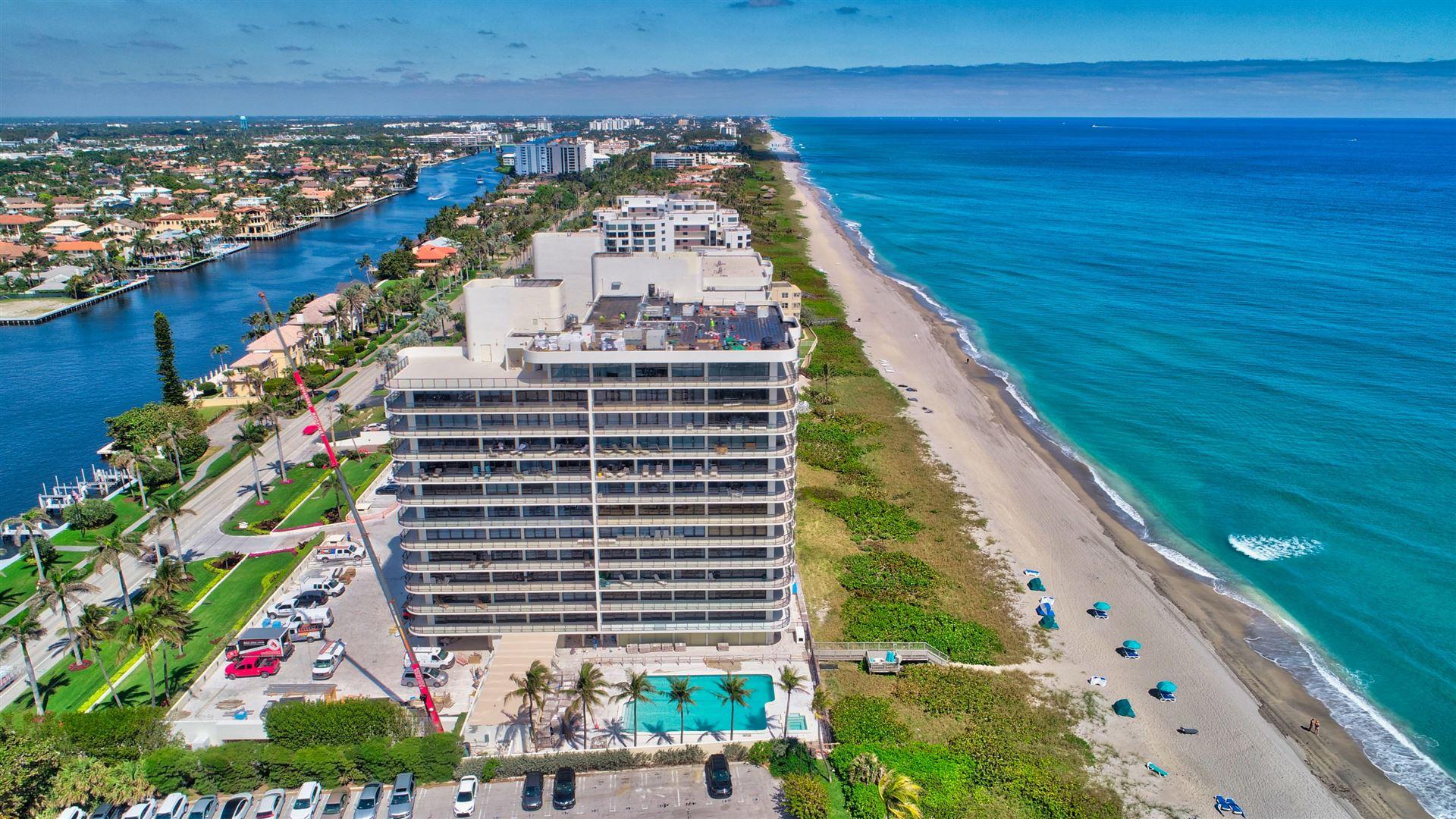 Photo of 2727 S Ocean Boulevard #901, Highland Beach, FL 33487 (MLS # RX-10697197)