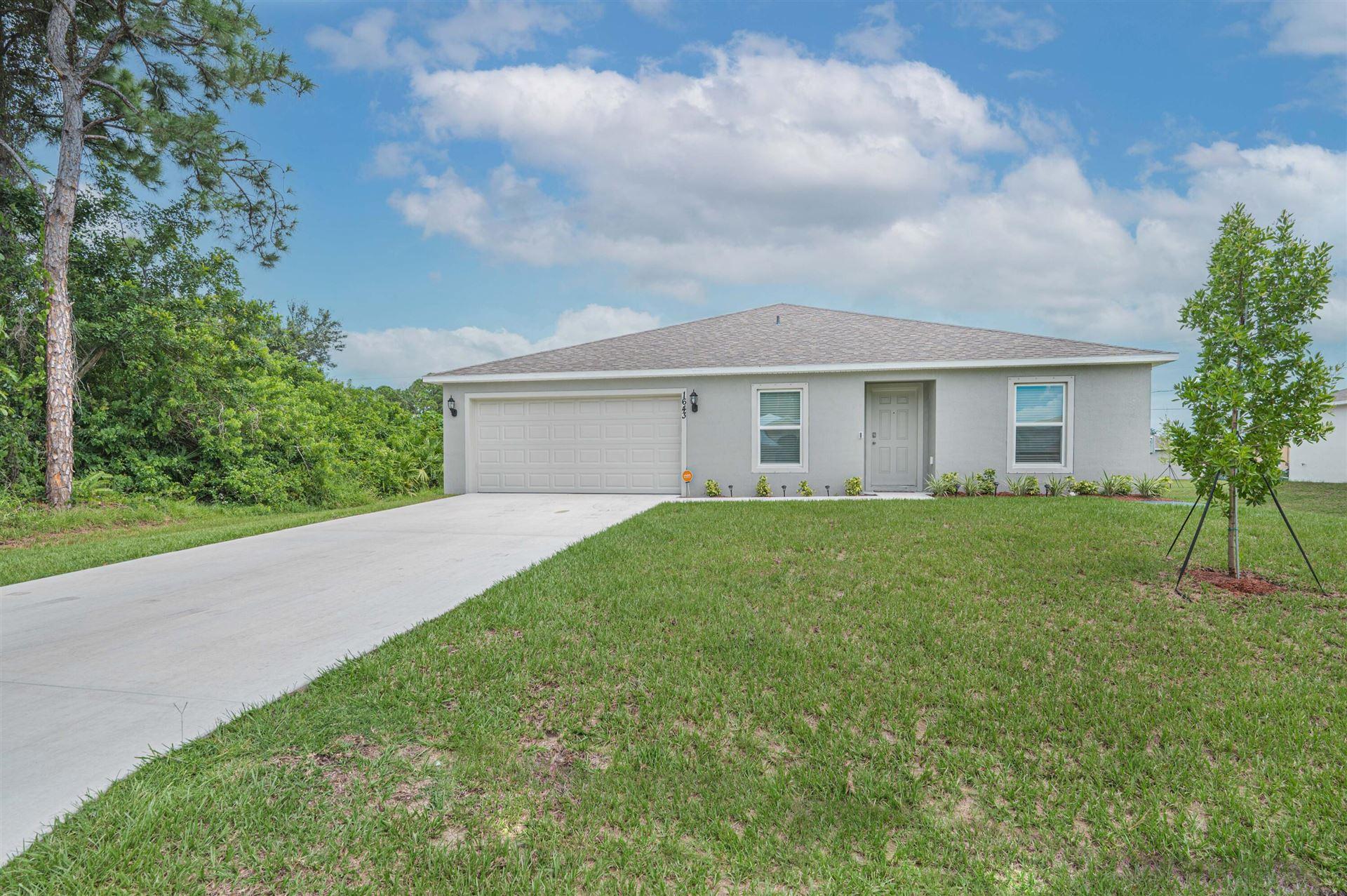1643 SW Norman Lane, Port Saint Lucie, FL 34984 - MLS#: RX-10747198