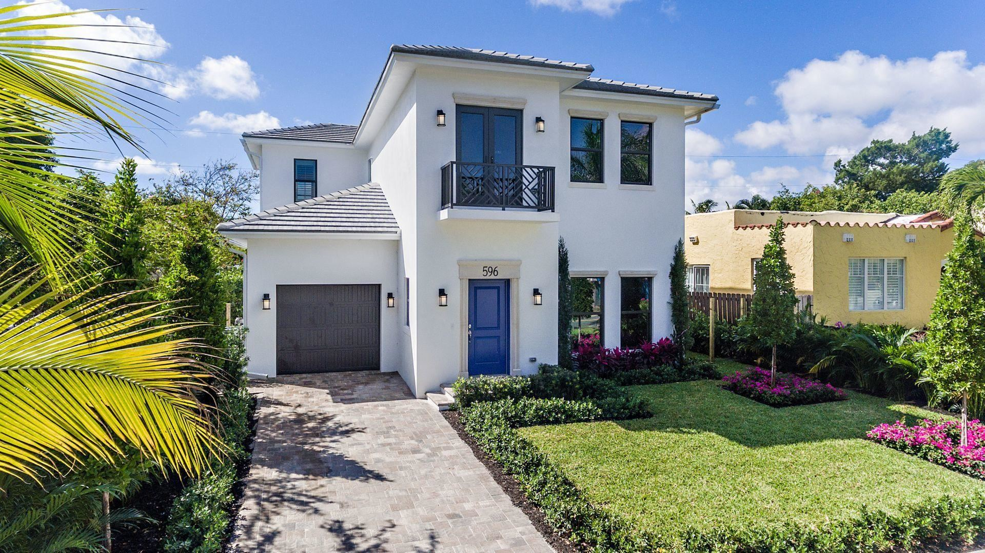 596 Ardmore Road, West Palm Beach, FL 33401 - #: RX-10610203