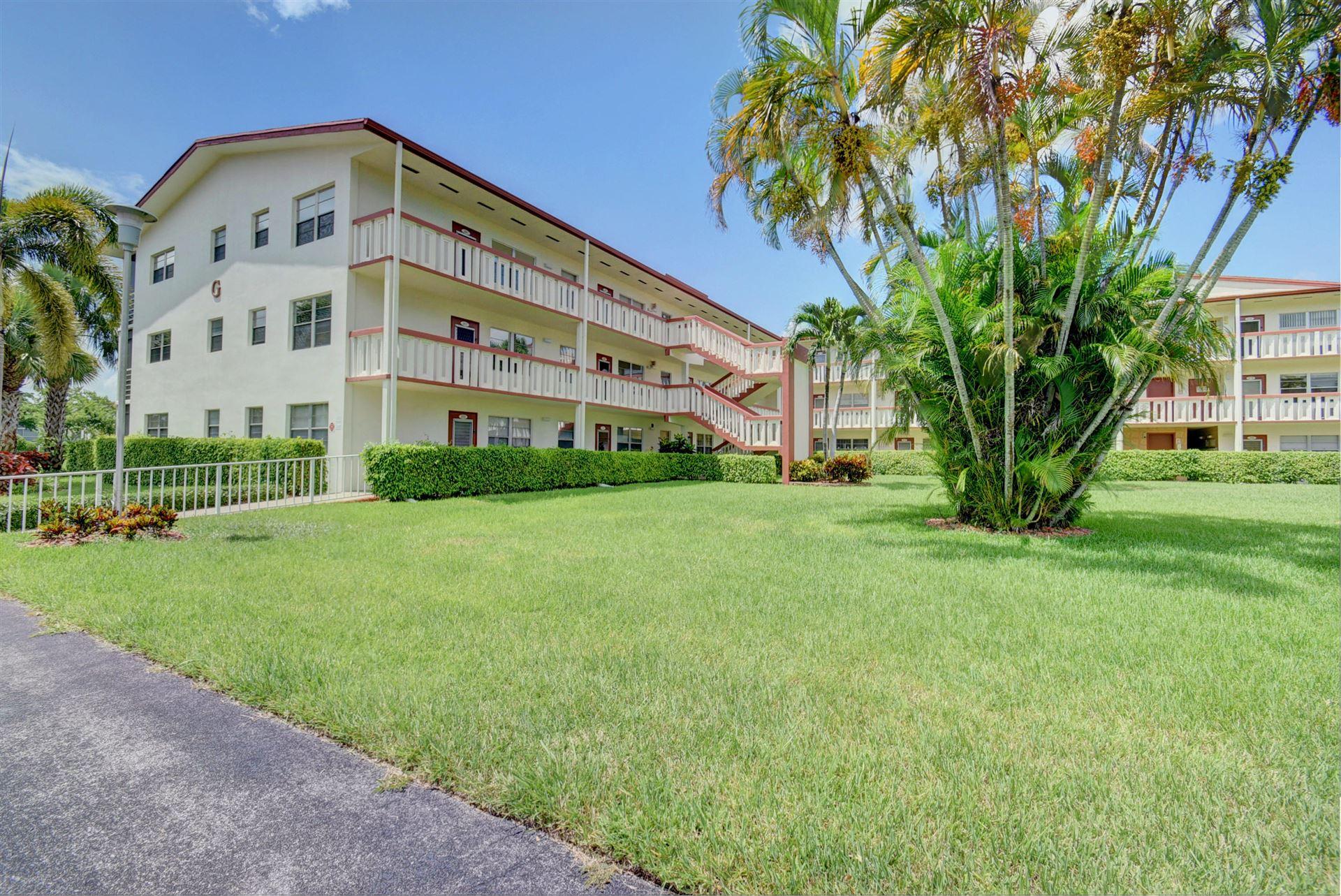 276 Brighton G, Boca Raton, FL 33434 - MLS#: RX-10714203
