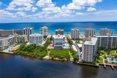 Photo of 3210 S Ocean Boulevard #602, Highland Beach, FL 33487 (MLS # RX-10632204)