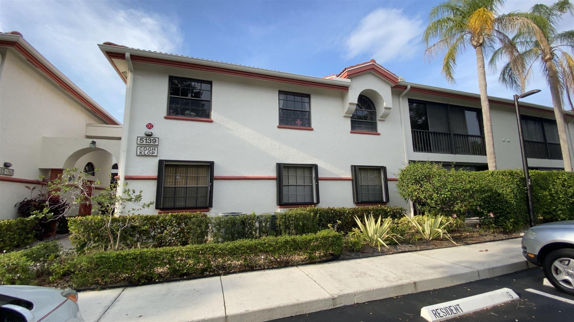 5139 Floria Way #O, Boynton Beach, FL 33437 - #: RX-10648205