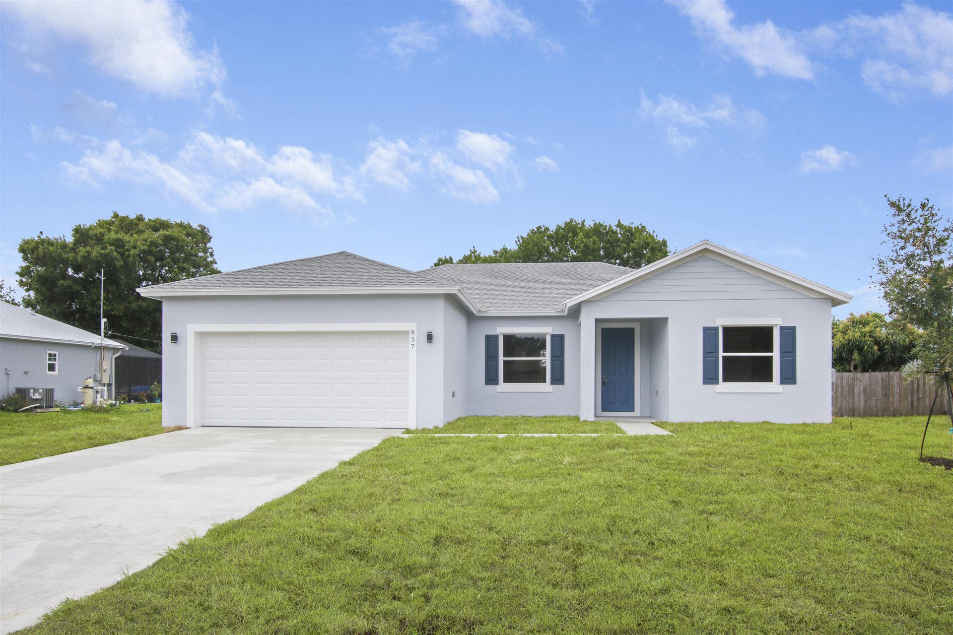 857 SE Cavern Avenue, Port Saint Lucie, FL 34983 - #: RX-10718205