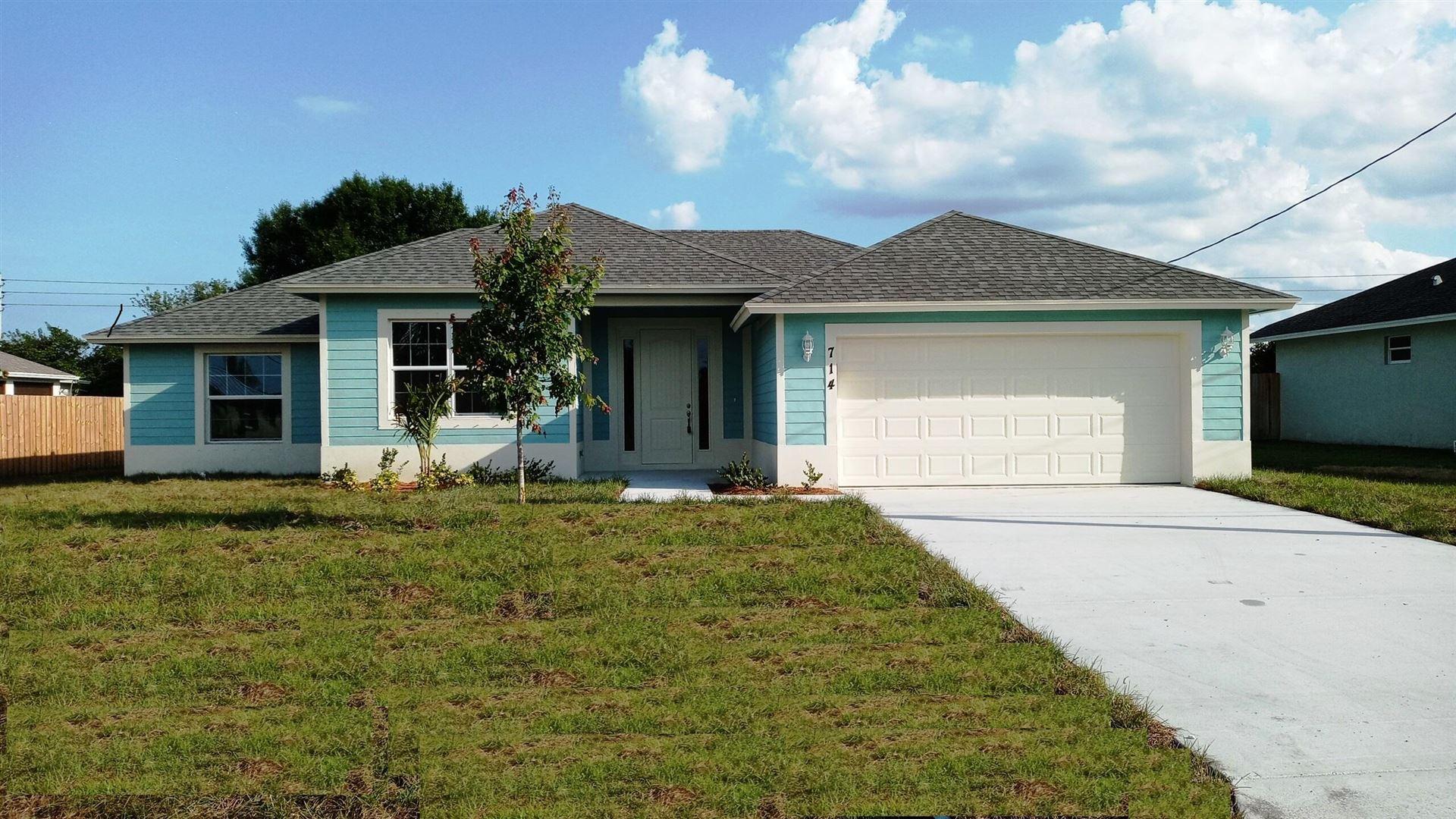 714 SW Jaslo Avenue, Port Saint Lucie, FL 34953 - #: RX-10712212