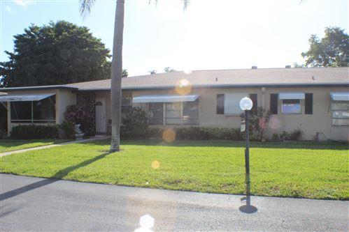 Photo of 857 North Drive #B, Delray Beach, FL 33445 (MLS # RX-10627215)