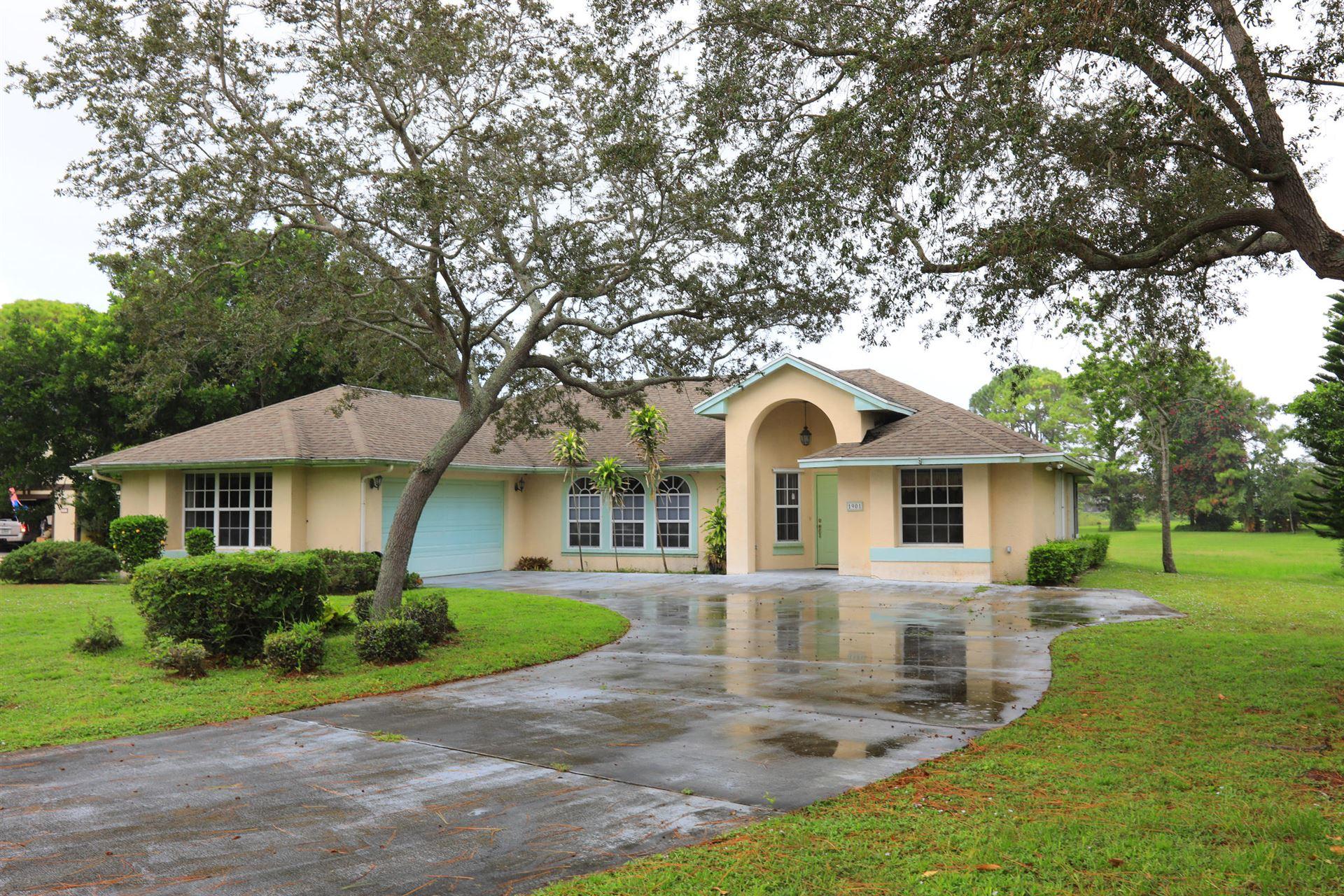1901 SE Van Kleff Avenue, Port Saint Lucie, FL 34952 - #: RX-10656215