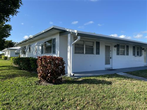 Photo of 201 Leisure Lake Circle #101, Boynton Beach, FL 33426 (MLS # RX-10603216)