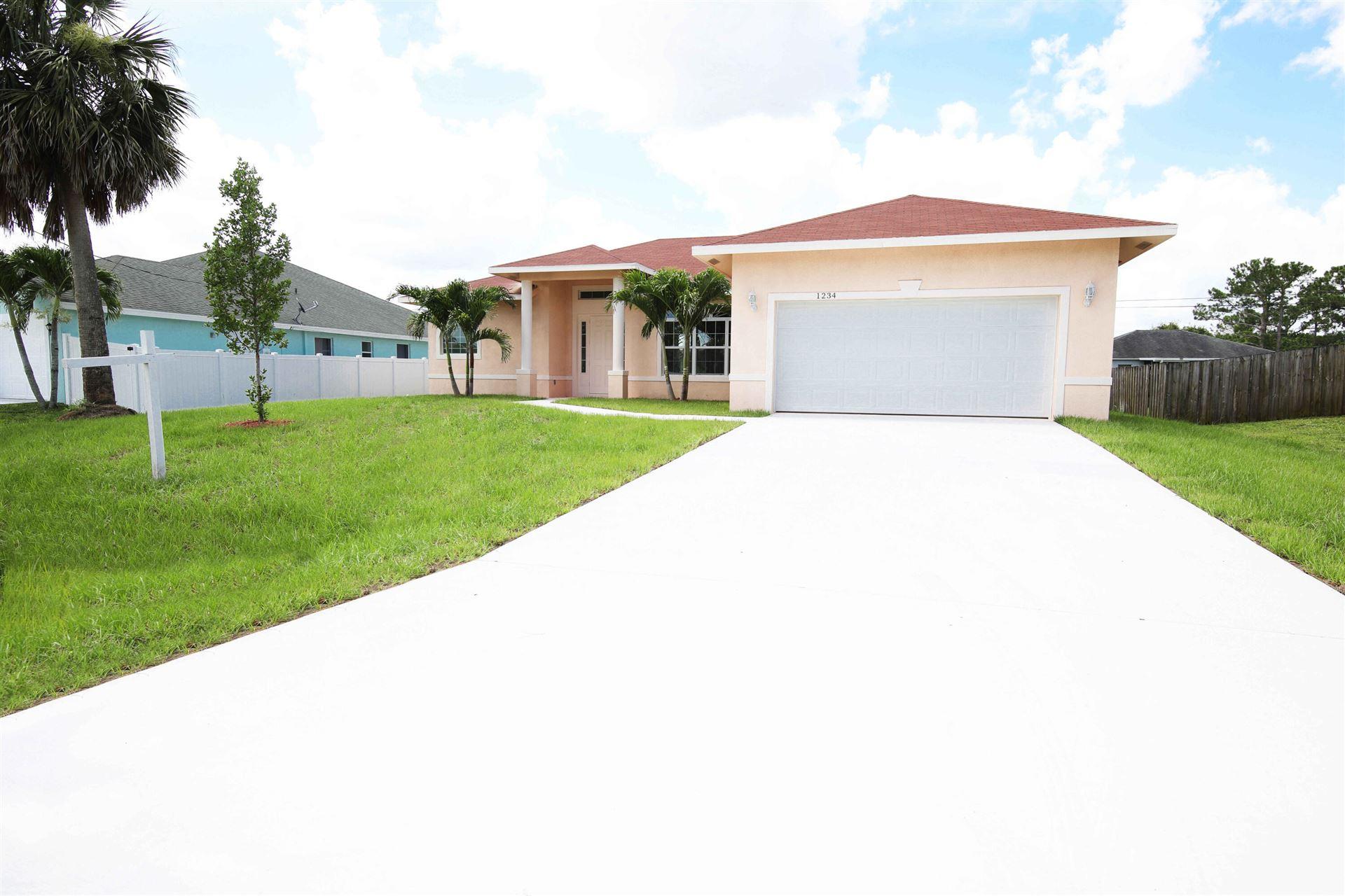 1234 SW Santiago Avenue SE, Port Saint Lucie, FL 34953 - #: RX-10733216