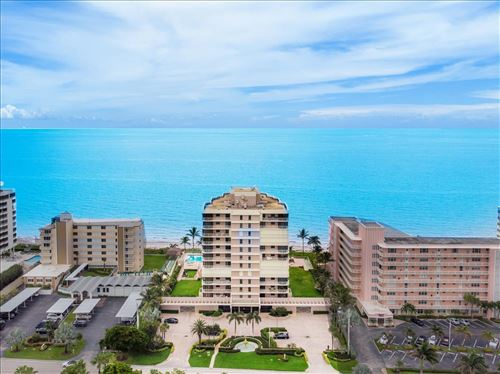 Photo of 2917 S Ocean Boulevard #803, Highland Beach, FL 33487 (MLS # RX-10652217)